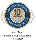 AIOFLA 10 Best Law Firm New Direction Family Law 2016
