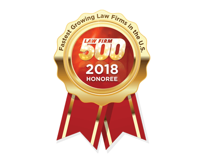 Law Firm 500 2018 Honoree