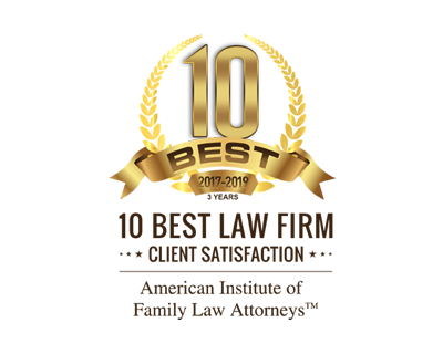 10 Best Law Firm 2017 - 2019 Family Law Attorney